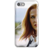 Scully in the wind iPhone Case/Skin