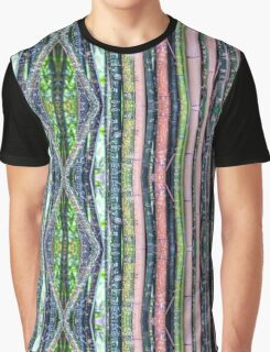Bamboo Stripes Graphic T-Shirt