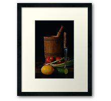 Cookery Framed Print