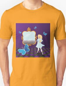 Alice Through the Looking Glass. Unisex T-Shirt