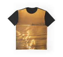 Lismore Lighthouse Sunset Graphic T-Shirt