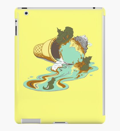 Drop it like it's warm iPad Case/Skin