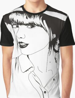 taylor swift Black and white Graphic T-Shirt