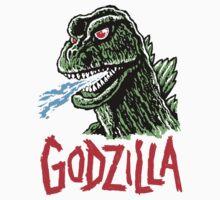 GODZILLA - King of the Monsters! by ManiYackMonster