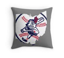 Cleveland Indians III Throw Pillow