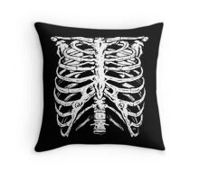 Punk Ribs Throw Pillow