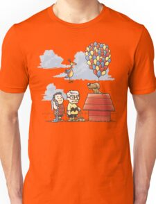 some Peanuts UP there Unisex T-Shirt