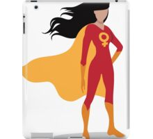 Feminist superhero  iPad Case/Skin