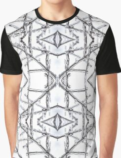 Ice Crystal Repetition Graphic T-Shirt