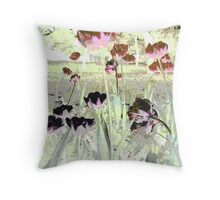 Tulips Colours Tulips Throw Pillow Throw Pillow