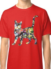 FLOWER  CAT Classic T-Shirt