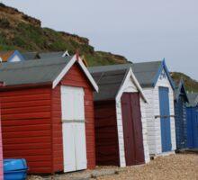 Beach Huts 2 Sticker