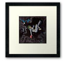 zop-o-matic ray girl Framed Print
