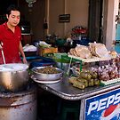 Spring Roll Vendor by Lesley Williamson