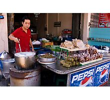 Spring Roll Vendor Photographic Print
