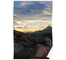 rural village Poster
