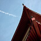 red chinese roof by lockstockbarrel