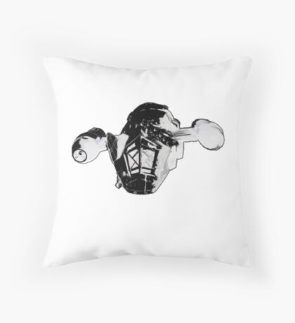 Serenity The Best Ship in the Black Throw Pillow