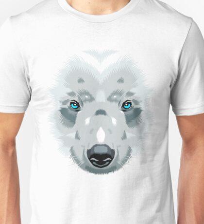 Bear white Unisex T-Shirt