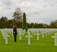 France - Normandy American Cemetery and Memorial by Ren Provo