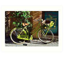 Green Cruiser Art Print