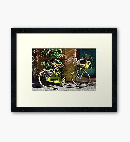 Green Cruiser Framed Print