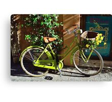 Green Cruiser Canvas Print