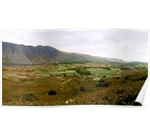 Wasdale Panorama, Cumbria, UK Poster