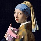 Girl with a pig by HottyPig