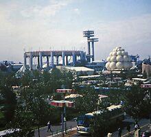 Worlds Fair Overview #1 by John Schneider