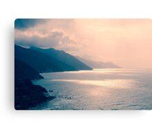 Sunset in Choroni Canvas Print