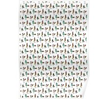 quirky birds Poster