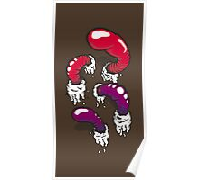 Gummy Worm Poster