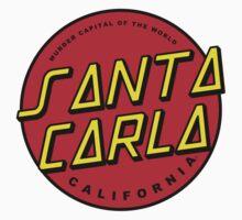 Santa Carla Skate Shirt by thisisdodger