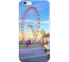 Westminster Bridge And The London Eye iPhone Case/Skin