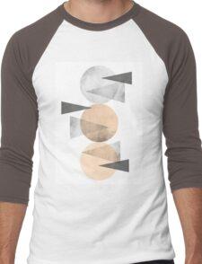 3 CIRCLES Men's Baseball ¾ T-Shirt