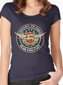 Corneria Air Force Women's Fitted Scoop T-Shirt