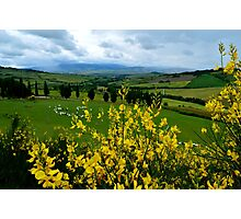 Tuscany Hills Photographic Print