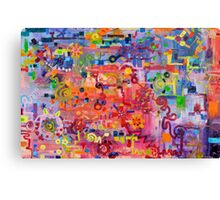 Transition to Chaos Canvas Print