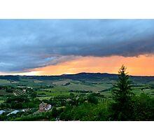 Montepulciano View Photographic Print
