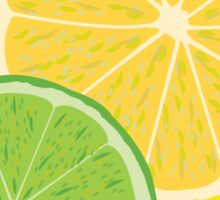 Lemon Lime Vector Sticker