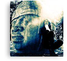 Olmec Vision & Dreams Canvas Print