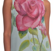 Red rose Contrast Tank