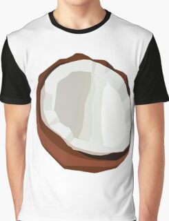 Coconut Vector Graphic T-Shirt