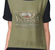 Victrola by Victor Talking Machine Co. USA Chiffon Top