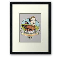 Cage Free Eggs Framed Print