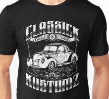 Hot Rod - Classic Kustomz (white) Unisex T-Shirt