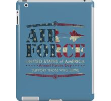 Armed Forces Day - USAF Air Force iPad Case/Skin