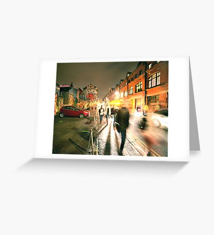 Brighton street Greeting Card