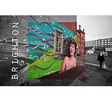Brighton street Photographic Print
